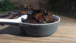 茶树菇烧肉的做法图解17