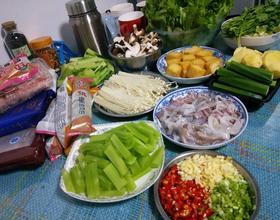 晚饭在二姐家吃火锅啦[图]
