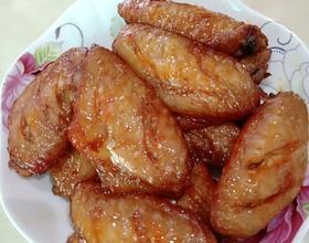烤鸡翅[图]