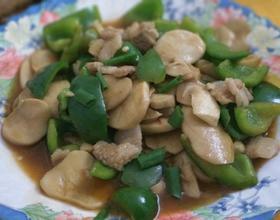 杏鲍菇炒肉片[图]