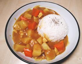 咖喱雞飯[圖]