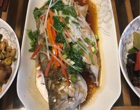 清蒸鱸魚[圖]
