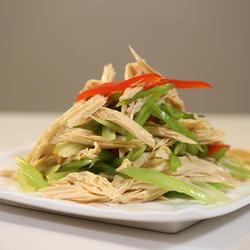 芹菜拌腐竹的做法[图]