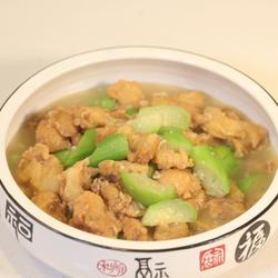 丝瓜小酥肉