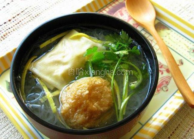 油豆腐线粉汤