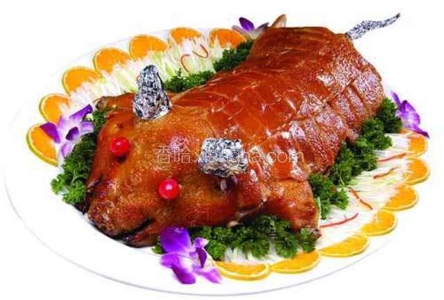 巴马烤香猪