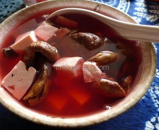 莆田红菇汤