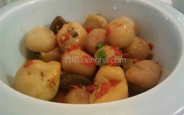 皮蛋剁辣椒蒸土豆