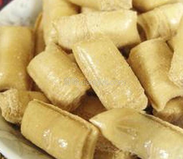 通海豆末糖