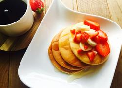 超快手早餐松饼,好吃到幸福感爆棚
